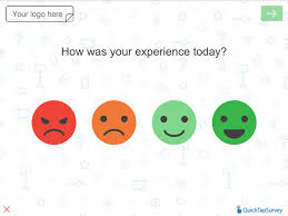 customer satisfaction report template happy or not survey template for gathering customer data