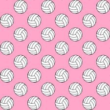 sports wrapping paper one inch black and white sports balls on carnation pink
