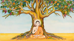 buddha and the bodhi tree soma han