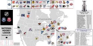 Map Of The Stars Los Angeles by Hockey Nhl Pre Realignm U0027t Billsportsmaps Com