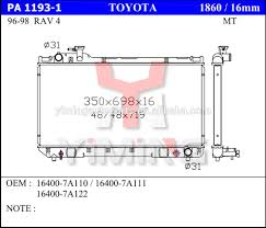 toyota radiator toyota radiator suppliers and manufacturers at