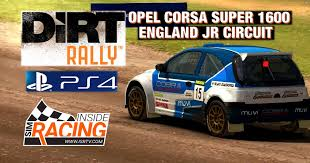 opel england dirt rally ps4 opel corsa super 1600 england junior circuit