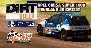 Dirt Rally Ps4 Opel Corsa Super 1600 England Junior Circuit