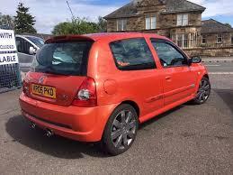 clio renault 2005 renault clio 182 sport 2005 rare 16v orange rare colour in