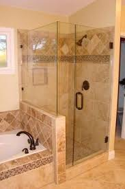 tiled shower ideas for bathrooms details photo features castle rock 10 x 14 wall tile with glass