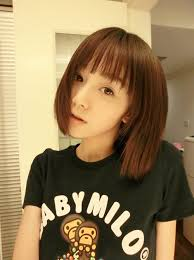 relaxed short bob hairstyle 15 sweet short hairstyles for girls asian hairstyles