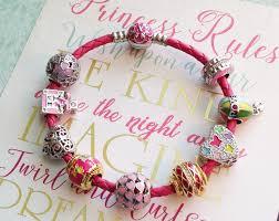 pink leather bracelet images Leather bracelets of ninaqueen png