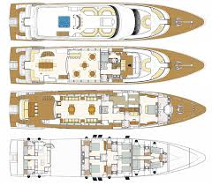 deck plans majesty 135 yacht deck plans yacht layout by gulf craft