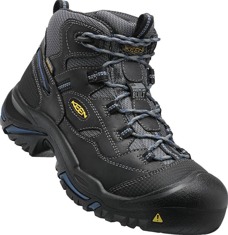 Keen Utility 1014605 Braddock Mid WP 10.5 D by The Shoe Mart