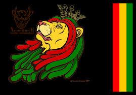 Lion Flag Rasta Flag Wallpaper