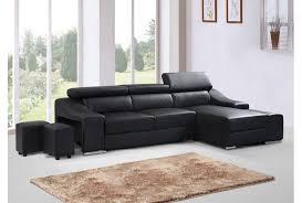 canapé d angle imitation cuir canape d angle simili cuir noir maison design hosnya com