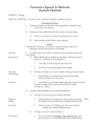 resume informative speech outline template mla professional