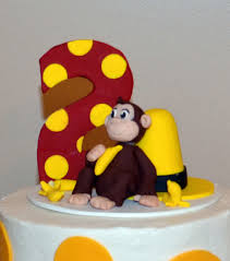 curious george cake topper darlin designs cake topper auction