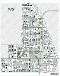 Chicago Neighborhood Map Poster by Beverly Map U2013 Joe Mills