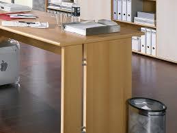 Schreibtisch Buchefarben Chef Schreibtisch Winkelkombination Mit Wangenfuß Inkl