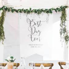 wedding backdrop personalized personalized wedding backdrop leaves z create design