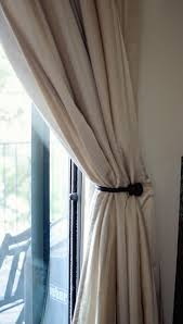 how to tie curtains new curtain tie backs moky and marisa