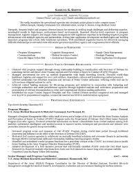 offshore resume samples