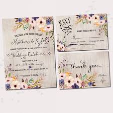 printable wedding invitations floral wedding invitations watercolor floral printable wedding