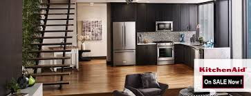 Espresso Cabinets With Black Appliances Black Stainless Steel Kitchen Appliance Package Sales