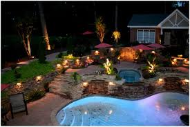 backyards outstanding courtyard festival lighting 18 fall