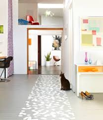 diy kitchen floor ideas diy project painted floor runner design sponge