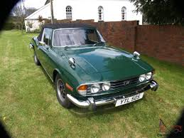 british racing green 1978 triumph stag mk2 3 0 auto british racing green