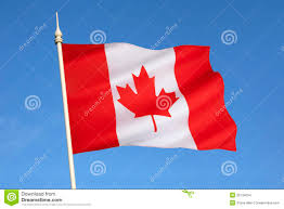 flag of canada north america stock images image 35134034