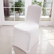 housses de chaises mariage fantaisie housse de chaise mariage en lycra m jetable pas chere
