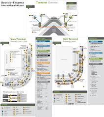 Atlanta International Airport Map by Seattle Maps Washington U S Maps Of Seattle