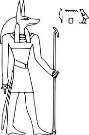 imagenes egipcias para imprimir mitología egipcia 5 dioses y diosas páginas para colorear