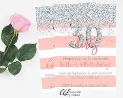 birthday invitation cheers to 30 years invite