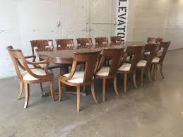 baker historic charleston dining room table and chairs ebth