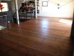 the look of these pine floors and its a saver