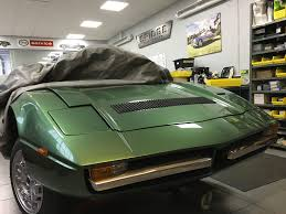 maserati merak engine work continues on the maserati merak engine bay bridge classic cars