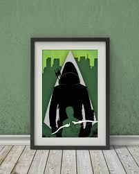 Green Tv Arrow â U20ac U201c Green Arrow Tv Show Poster â U20ac U201c Wall Art Digital Print