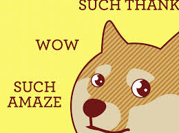 Doge Meme Original - funny thank you card such thanks doge card shiba inu greeting