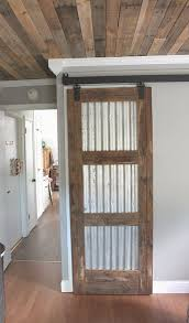 How To Build A Barn Door Frame Sliding Screen Door Barn Track Planted And Blooming Doors