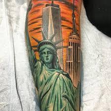amazing new york city sleeve tattoo venice tattoo art designs