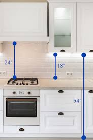 kitchen wall cabinets how high kitchen cabinet height guide how high should they be