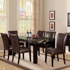 Acme Dining Room Sets by Modern Dining Set Marble Top Acme 70115 Sectionals