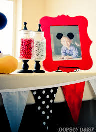 mickey mouse table l mickey mouse birthday party oopsey daisy