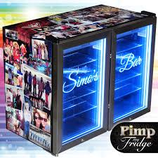 pimp my fridge custom brands glass door bar fridges making a great