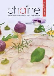 cuisine revue welcome