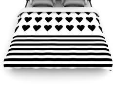 trapped black on white duvet cover by project m s duvet covers