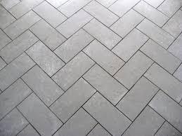 light grey brick tiles floor design appealing outdoor flooring decoration using diagonal
