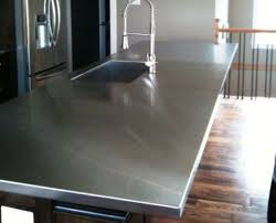 stainless steel countertop with sink stainless steel kitchen countertops things you need to know
