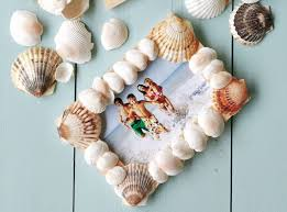 25 unique seashell picture frames ideas on pinterest seashell