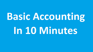 basic accounting in 10 minutes tutorial youtube