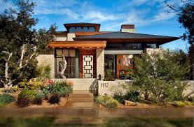 contemporary prairie style house plans modern prairie style architecture with crumbling wall ideas